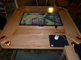 diy board game table i love this idea virtual tabletop at the tabletop dm can present