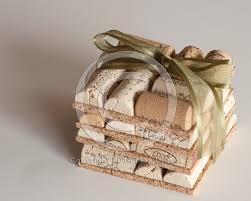 wholesale wedding favors wedding favors wine cork coasters set of 4 wine cork crafts
