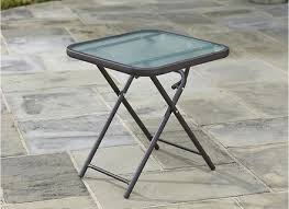 Folding Patio Side Table Small Patio Side Table Objectifsolidarite2017 Org