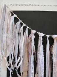 best 25 ribbon garland ideas on burlap