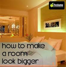How To Do Interior Design 5 Tips For Fooling The Eye And Making A Room Look Bigger
