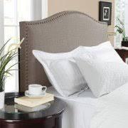 better homes and gardens grayson full queen linen upholstered