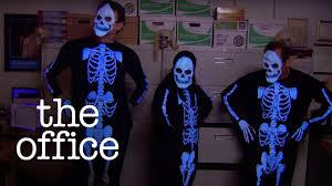 The Office Joker Halloween by The Skeleton Dance The Office Us Youtube