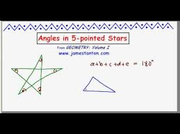How Many Interior Angles Does A Pentagon Have Angles In A 5 Pointed Star Tanton Mathematics Youtube