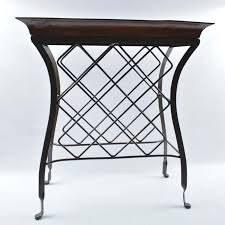 removable tray top table pier 1 imports wine rack with removable tray top ebth