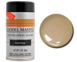 testors paint model master automotive enamel sand beige spray paint