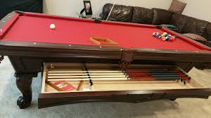 Pool Table Olhausen by Beautiful Install Of An Olhausen Montrachet Pool Table Will Drawer