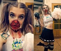 Zombie Cheerleader Ashi Monster Diy Crop Tank Top Sharpies Diy Skirt New Yorker