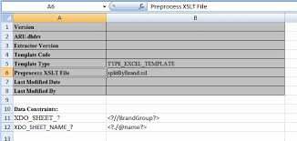 Data Mapping Excel Template Creating Excel Templates