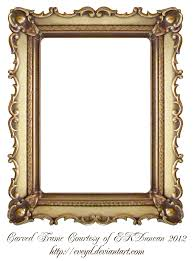 halloween frame png carved gold frame by ekduncan by eveyd deviantart com on