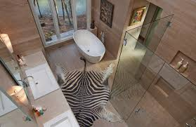 Luxury Bathroom Rug Animal Print Rugs For Your Luxury Bathroom