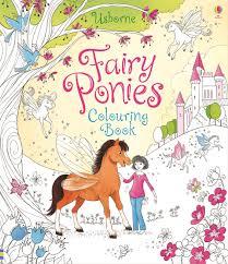 fairy ponies colouring book u201d usborne books