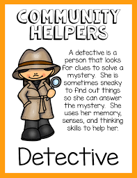 use community helpers to make information text engaging for
