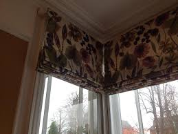 Measuring Bay Windows For Curtains X3 Roman Blinds Made To Measure For A Square Bay Window Perfect