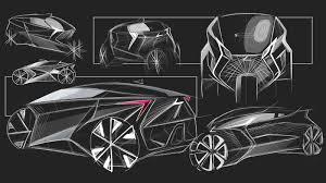 lexus interior sketch lexus three wheeled revolution concept by sanjay urikoth motivezine