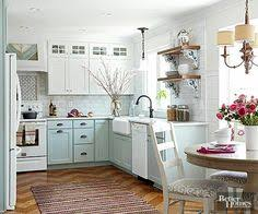 Blue And White Kitchen Cabinets 6 Dreamy Blue Kitchens For This Spring Daily Dream Decor