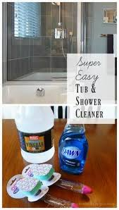 Bathtub Cleaner Vinegar Vinegar And Dawn Cleaning Solution Miracle In A Spray Bottle
