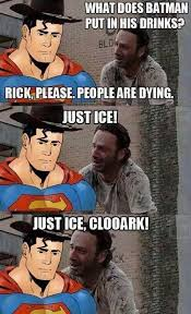 Walking Memes - walking dead superman meme comic other memes pinterest