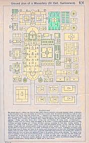 map of the st gall monastery 819