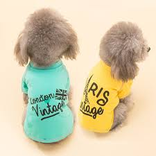 Pet Dog Clothes Small Puppy T shirts Vest Summer Dog Clothing Pet