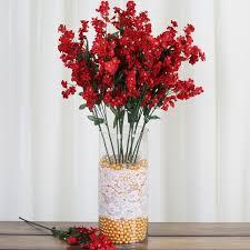 20 24 bushes baby breath silk filler flowers for wedding