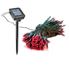 solar powered christmas lights reusable revolution 150 light 55 ft solar powered integrated led