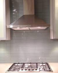 modern kitchen backsplash glass tiles clear subway tile backsplash
