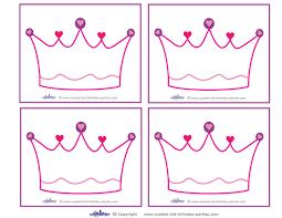 10 best images of disney princess crown template princess crown