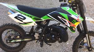 50cc motocross bike accensione pit bike 50 xxl italjet 10cv youtube