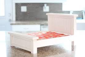Dog Bed Nightstand Ana White Small Dog Bed Diy Projects