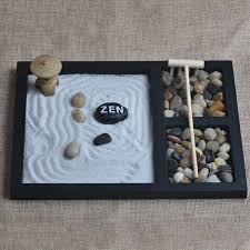 hand make wooden craft zen garden decoration resin figurine