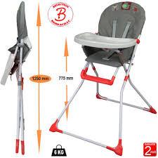 chaise haute bébé pliante chaise haute bébé auchan design à la maison
