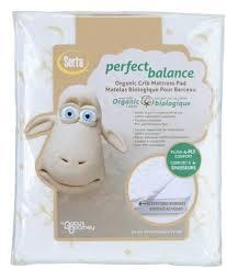 amazon com serta perfect crib mattress cover balance organic baby