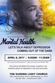 Guiding Light Church Mental Health Let U0027s Talk About Depression Coming Out Of The Dark