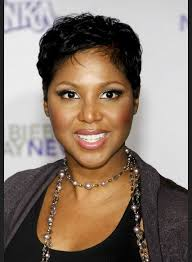 shortcuts for black women with thin hair braxton shortcut hairstyle toni braxton short hairstyle for black