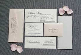 Blush Wedding Invitations Blush And Grey Wedding Invitations