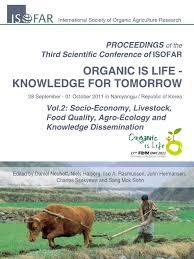 organic is life knowledge for tomorrow 2011 korea pdf organic