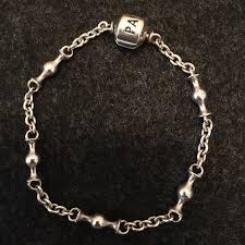pandora link bracelet images Pandora jewelry chain link bracelet poshmark jpeg