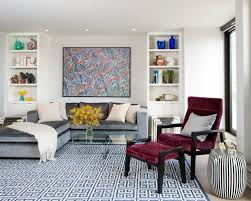 living room awesome modern living room rug ideas with blue