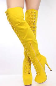 womens boots yellow 25 best yellow s boots ideas on s skirts