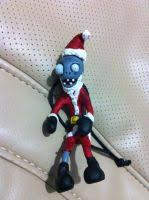 bungee plants vs zombies ornament by lunatica reiko on