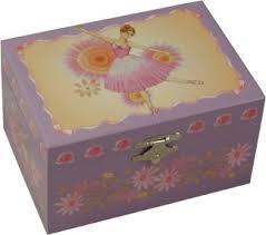 Childrens Music Boxes Emily Ballet Music Box Ballerina Musical Jewellery Box Girls