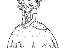 sofia coloring pages kids printable free coloing