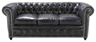 Distressed Leather Armchairs Black Leather Sofas For Charming Homes Elegant Furniture Design