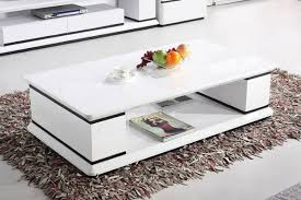 White Coffee Table White And Black Gloss Coffee Table Buy Today