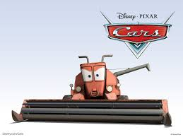 Frank The Combine From Pixar U0027s Cars Movie Desktop Wallpaper