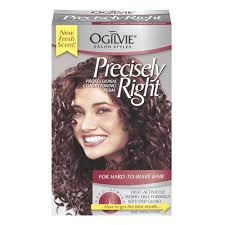 best perm for gray hair amazon com ogilvie precisely right for hard to wave hair