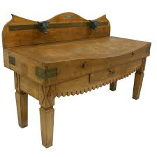 antique french butcher table 19th century french butcher block table butcher block tables
