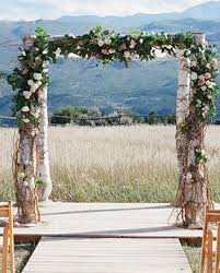 wedding arch log top wedding furniture rentals event decor company best vintage