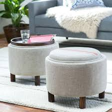 round upholstered coffee table storage ottoman coffee table round upholstered coffee table square